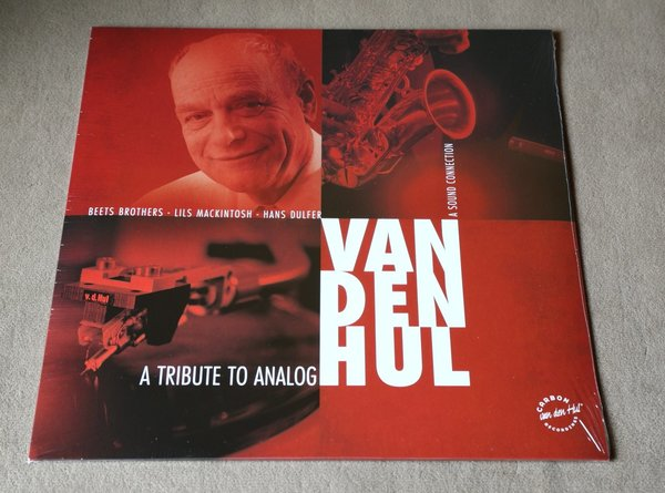 "VAN DEN HUL Audiophile LP ""A Tribute to Analog - A Sound Connection"" 140G"