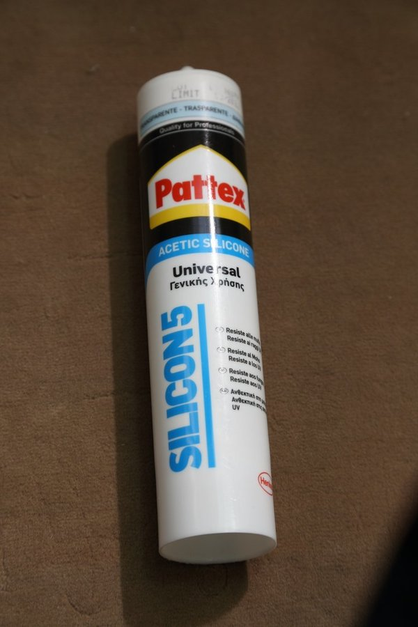 Pattex – Universal Silikon Silicon5 280 ml. Transparent 1534267